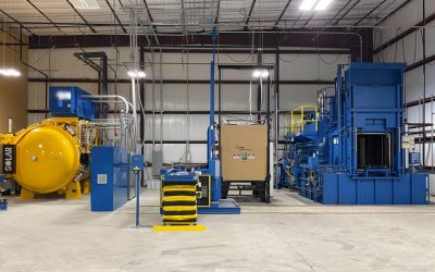 Texas Gear Manufacturer Installing Vacuum & Atmosphere Heat Treat Department