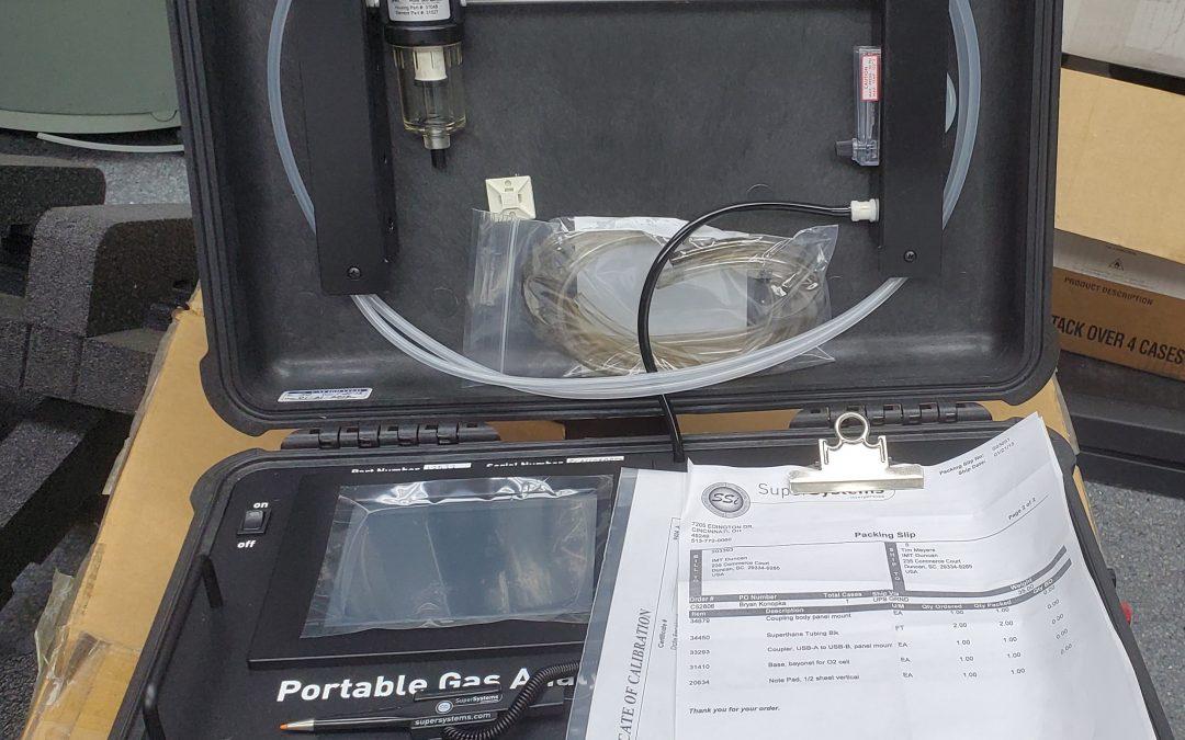 Item# L54 SSi 3 Gas Analyzer
